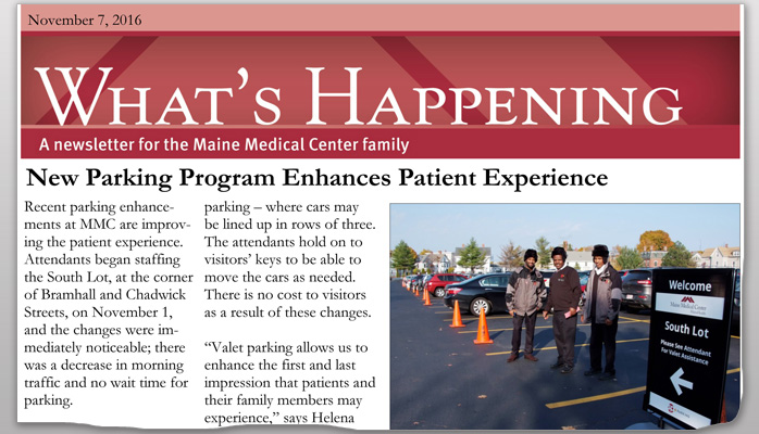 SP+ Parking Enhances Patient Experience at Maine Medical